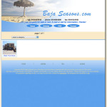 Initial design for bajaseasons.com vacation rental site