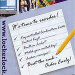 Annual school pamphlet for Masterlock distributor