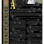 Layout for an interview with a member of the Raelian church